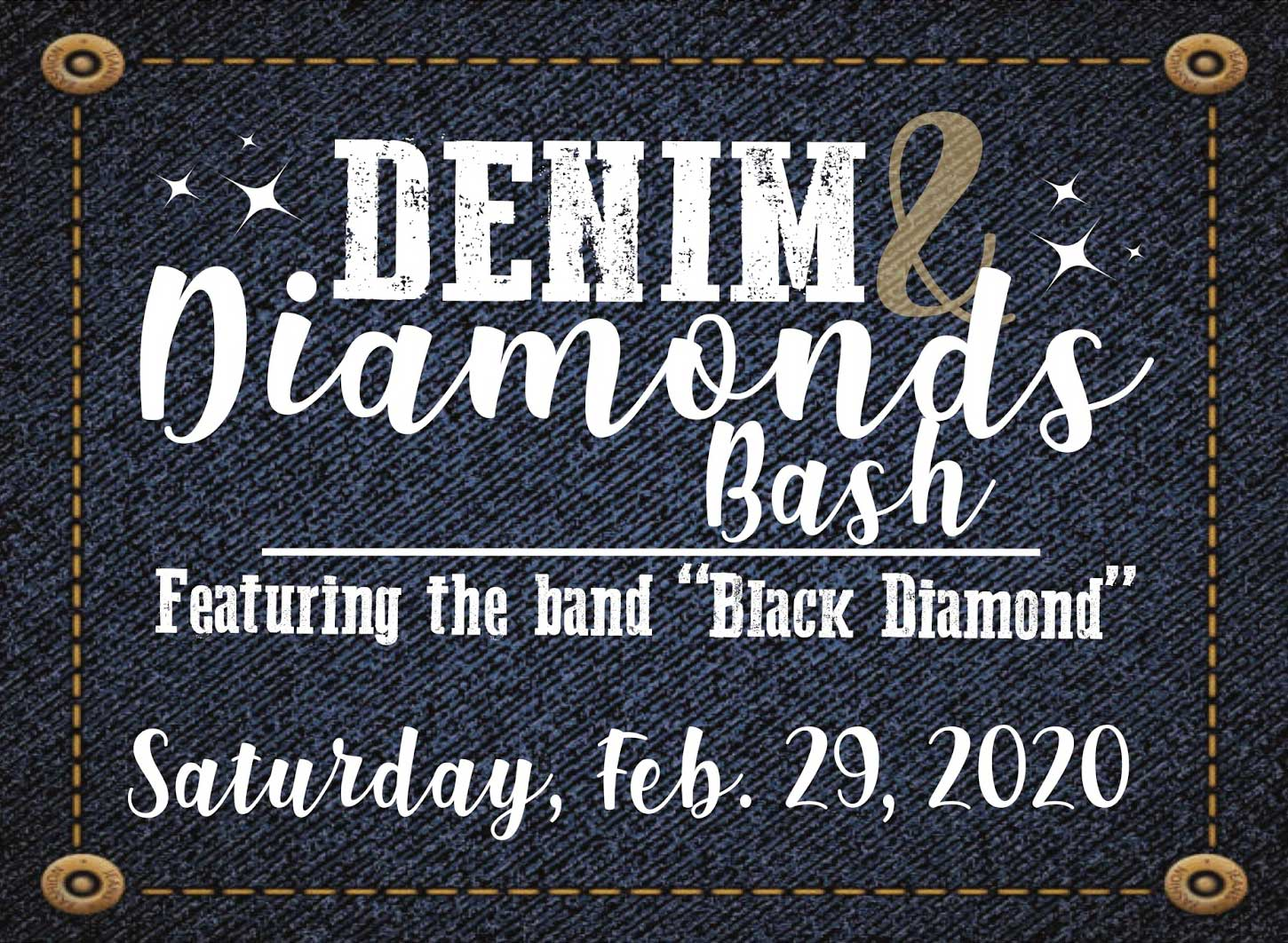 Denim and Diamonds Bash image