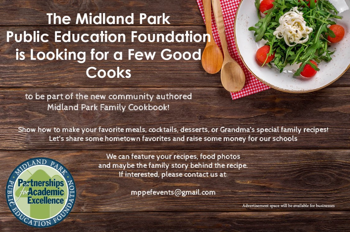 Midland Park family cookbook